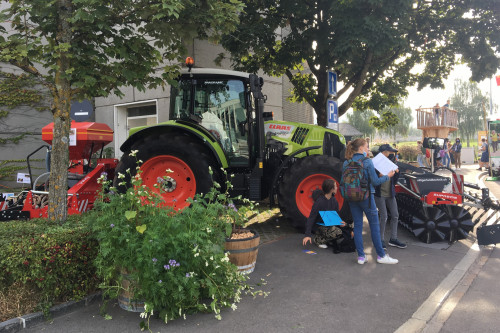 Traktorkombi und Gründüngung